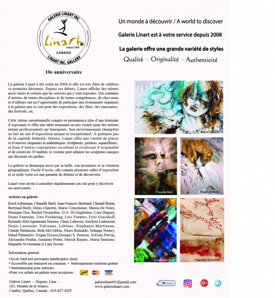 PUB ART INTERNATIONNAL Avril 2018
